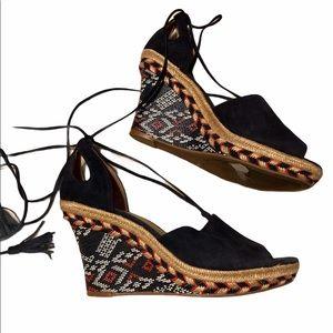CAbi Isla Wedge Sandals